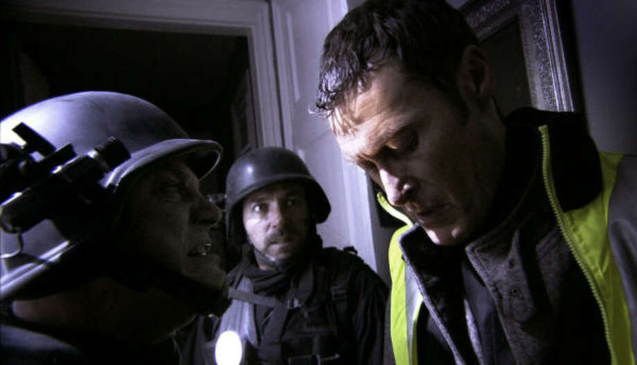 A SWAT team is trapped inside a building with a deadly germ in [Rec] 2. Photo: MAGNET RELEASING