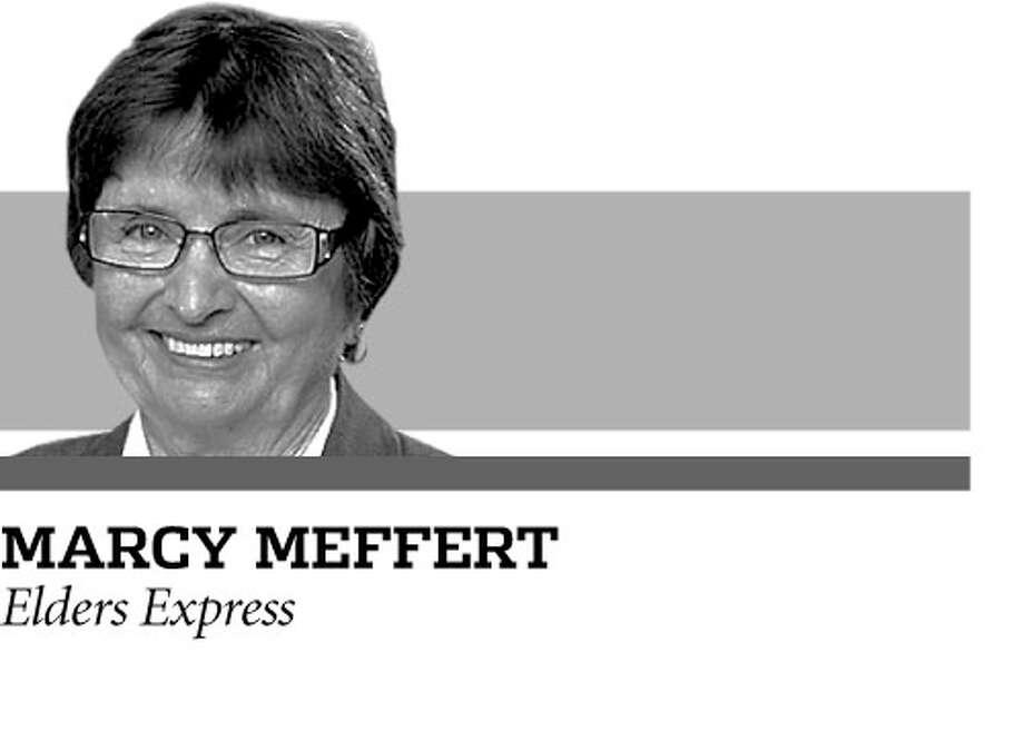 Marcy Meffert writes the Elders Express column for the San Antonio Express News. / DirectToArchive