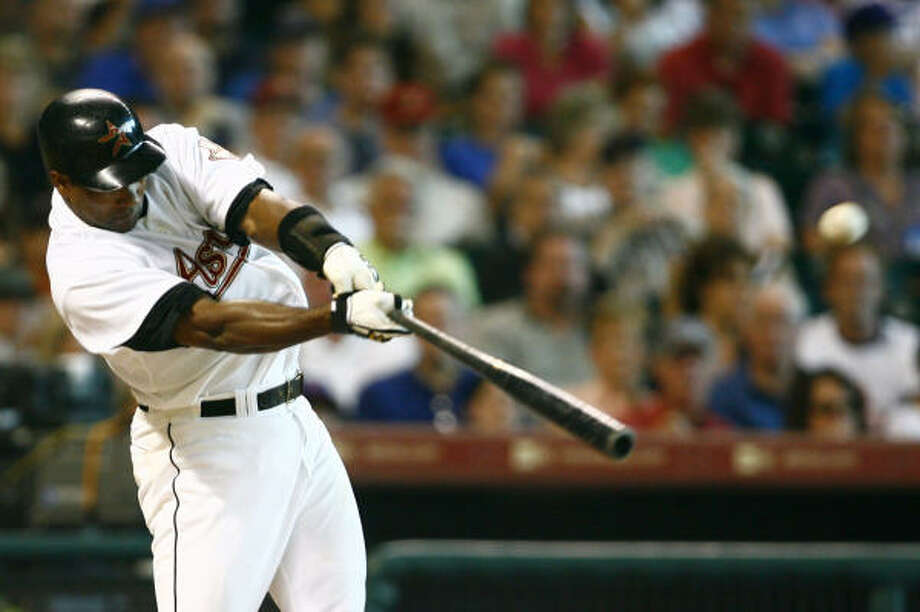 Miguel Tejada played for Oakland and Baltimore before joining the Astros for the 2008 season. Photo: Steve Ueckert, Houston Chronicle