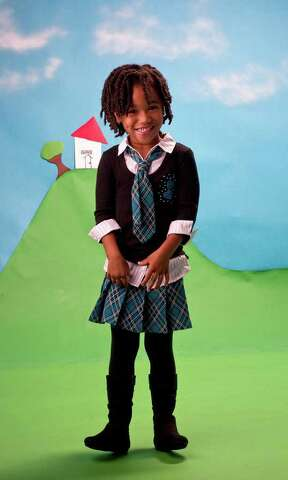 f39decc1f9985 Sesily is wearing a 2 Piece Plaid skirt with a black shirt from Kohl s for   42.00