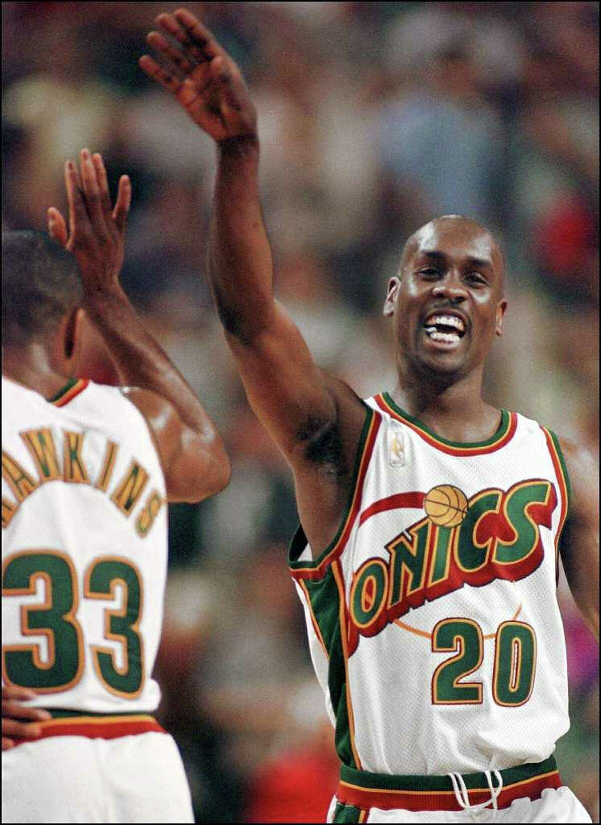 Last weekend, a charity basketball event was held at KeyArena. Many of the NBA products who grew up in the Seattle area played, and it was reminiscent of the days when those players would make trips back to the Key every year to play the Sonics. In the spirit of remembrance, here is a look back at the best players to suit up for the Sonics over the team's 41-year history in Seattle.