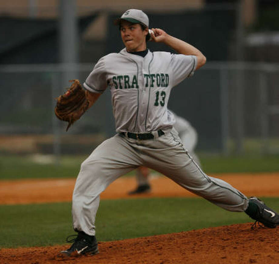 Stratford's Matt Evers is one of seven area players to represent Team Texas in the All Star Sunbelt Classic Baseball Series this week. Photo: Mayra Beltran, Houston Chronicle