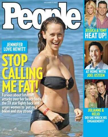 People magazine: Actress in bikini or pastor Joel? - Houston Chronicle