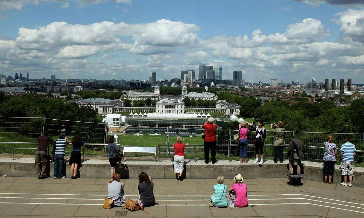 LONDON, ENGLAND - JUNE 29: General views across Green Park the venue for London 2012 Equestria on June 29, 2011 in London, England. (Photo by Warren Little/Getty Images)