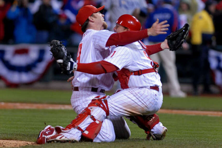 The Brad Lidge deal came out of last year's GM meetings. There was no such game changer this year. Photo: BRADLEY C. BOWER, BLOOMBERG NEWS
