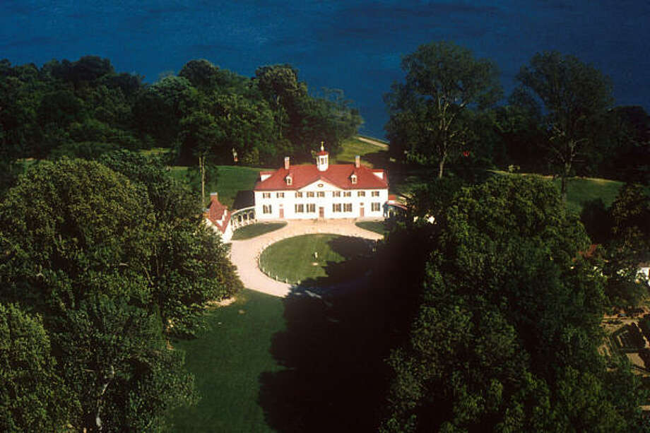 In addition to being the first president, George Washington also designed his home in Virginia. Photo: MOUNT VERNON LADIES' ASSOCIATION