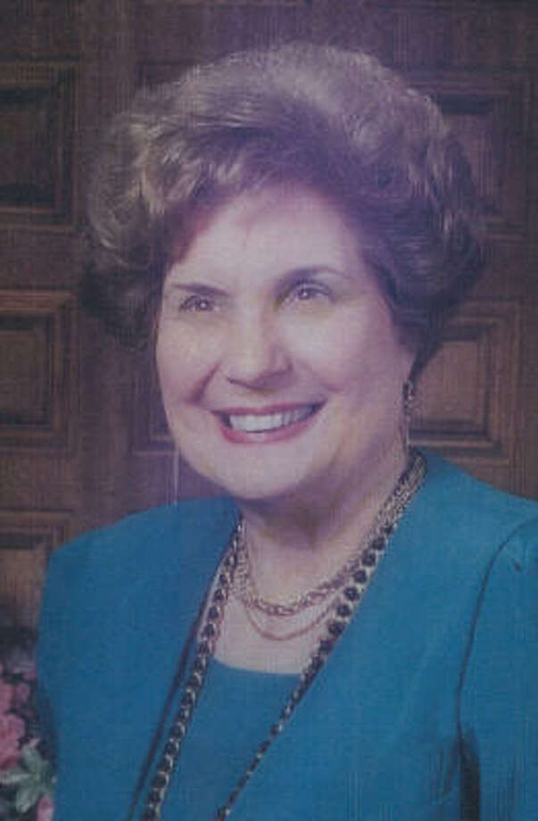 Evelyn Bloyd Newman won a City Council seat in 1982 and the mayor's office in 1992. Photo: For The Chronicle