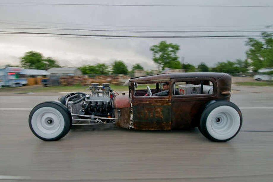 """This 1929 Ford hot rod was owned by Houston's Hellions car-club member Todd Ashby — known to his car-club brothers and friends as """"Hot Rod Todd."""""""