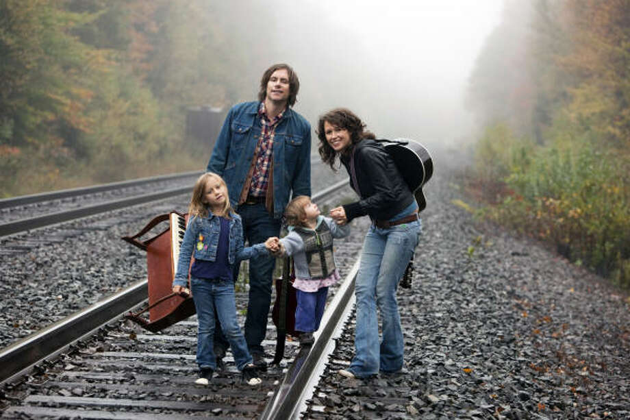 Sarah Lee Guthrie and husband Johnny Irion collaborated on the family album Go Waggaloo. Photo: Smithsonian Folkways