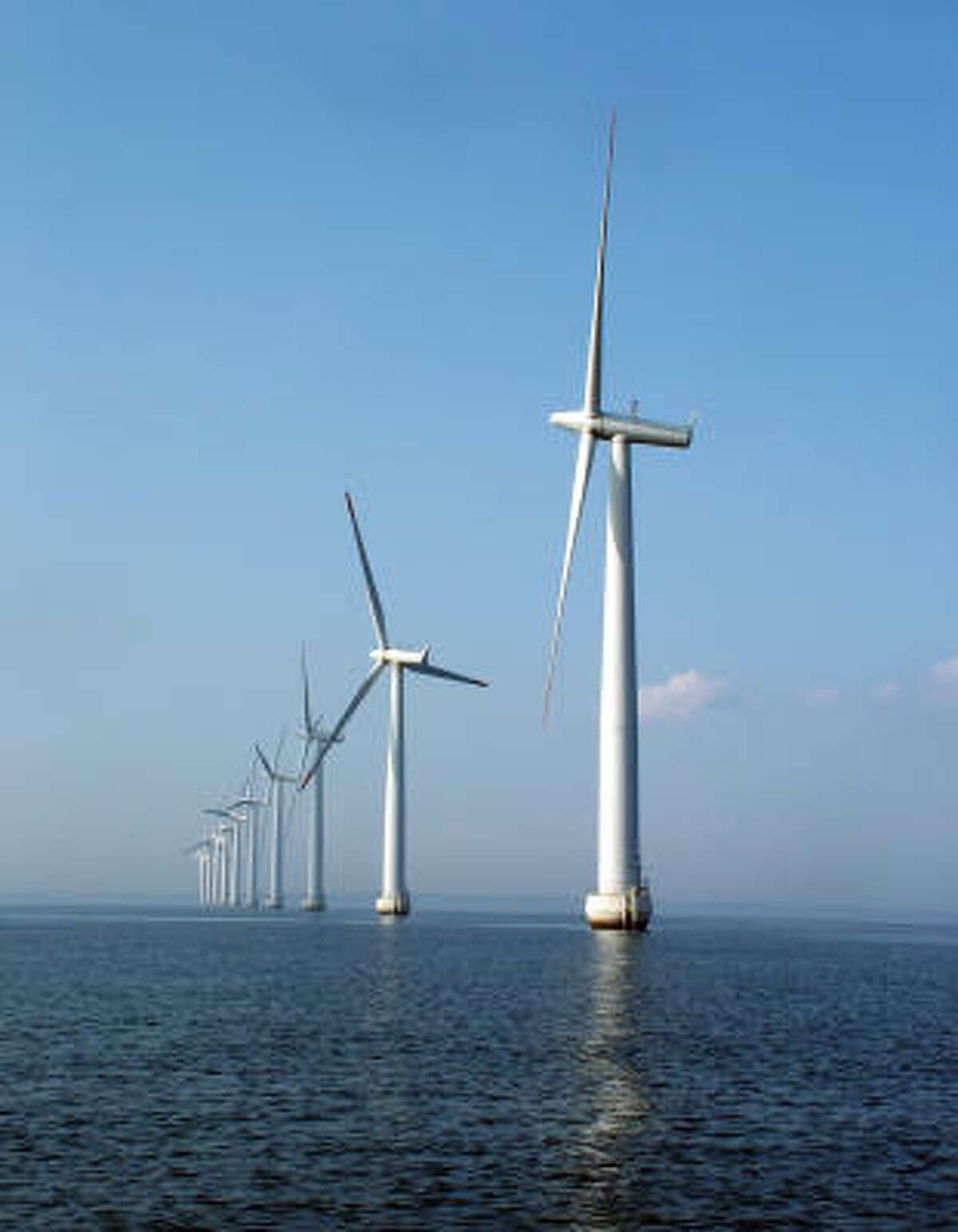 OFFSHORE: Offshore wind power is a growing source of energy, which will lead to more jobs in the field.