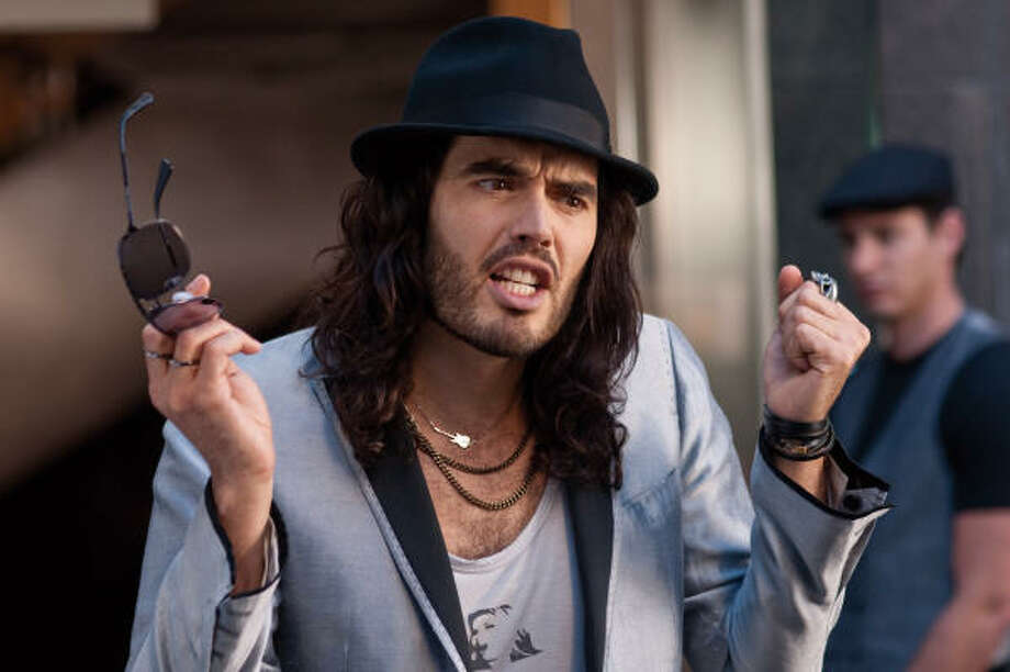 Russell Brand plays an out-of-control rock star in Get Him to the Greek. Photo: Sony Pictures Classics