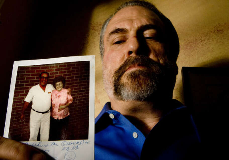 Duane Jones was the person his father asked to speak to before execution. This photo of Claude Jones was taken at the Ellis Unit.  Photo: Billy Smith II, Chronicle