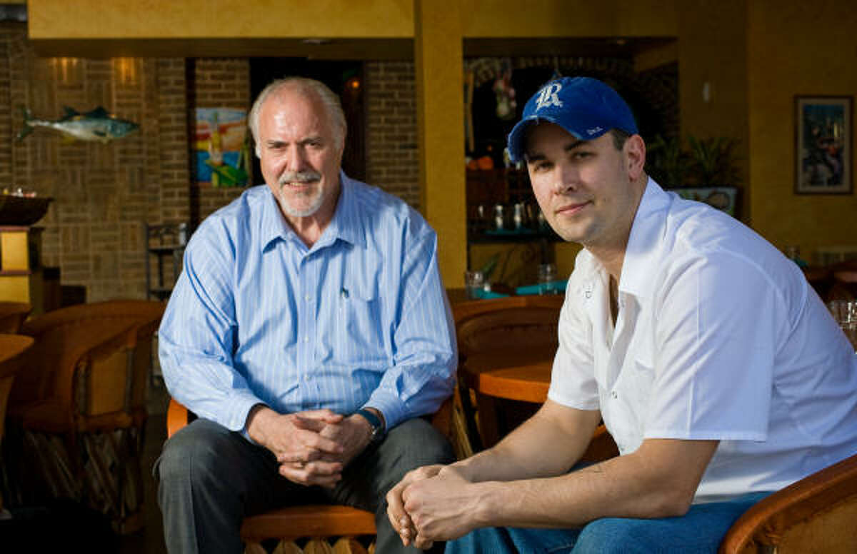 Yelapa owner Chuck Bulnes, left, and chef L.J. Wiley have put together a Mexican fusion restaurant that has great potential.