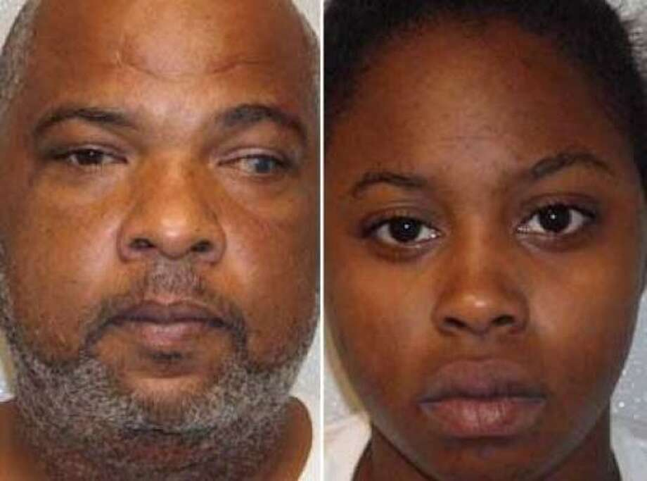 Darrell Lynn Bellard, 43, of Dickinson, is accused of shooting all four victims. While Tkeisha Nicole Gilmer, 18, of Texas City, allegedly blocked the victims' escape. Photo: Prince George's County Police Department
