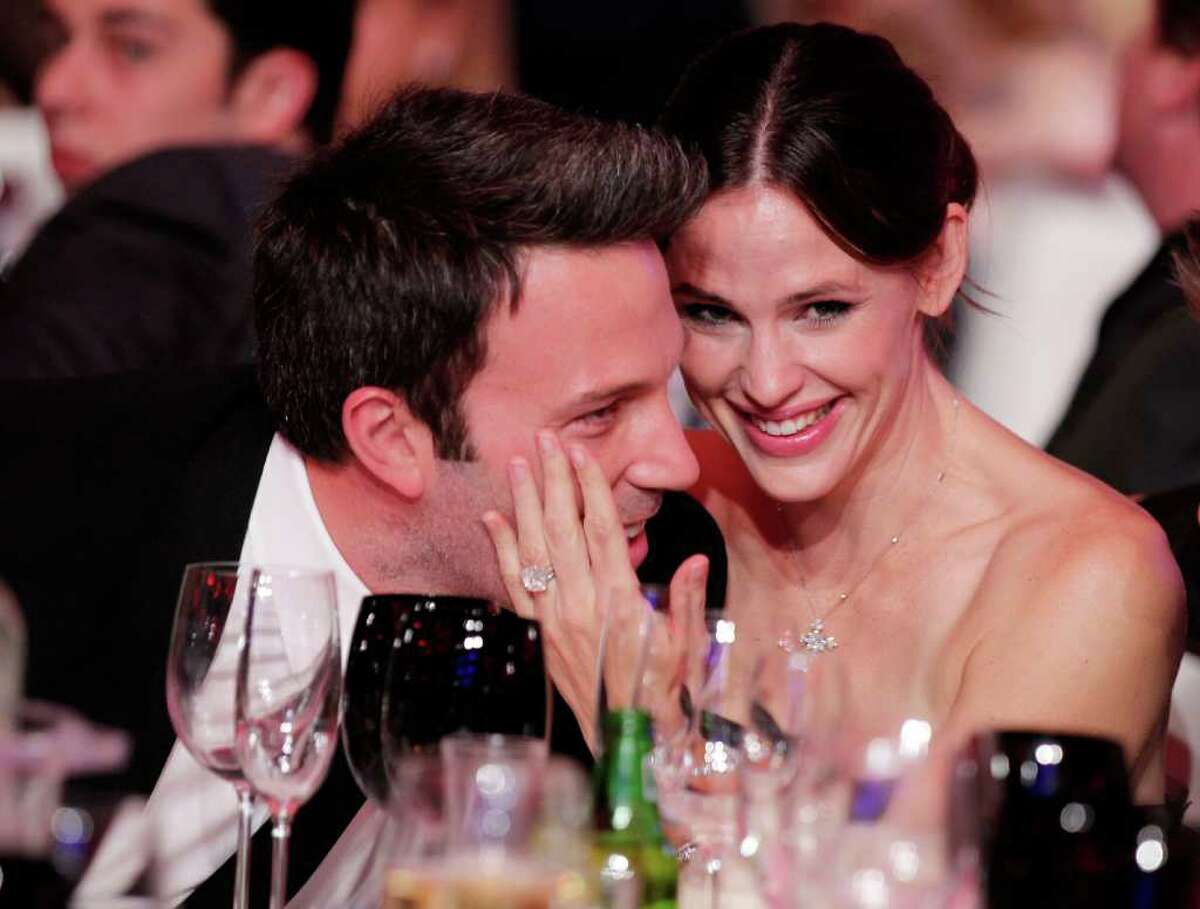 """Jennifer Garner and Ben Affleck met first on the set of """"Pearl Harbor,"""" but it wasn't until they started filming """"Daredevil,"""" that sparks truly began to fly."""