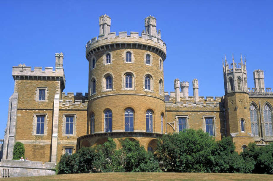 Belvoir Castle in Grantham, England, holds a special place in the Dansby family lore. Photo: Www.britainonview.com