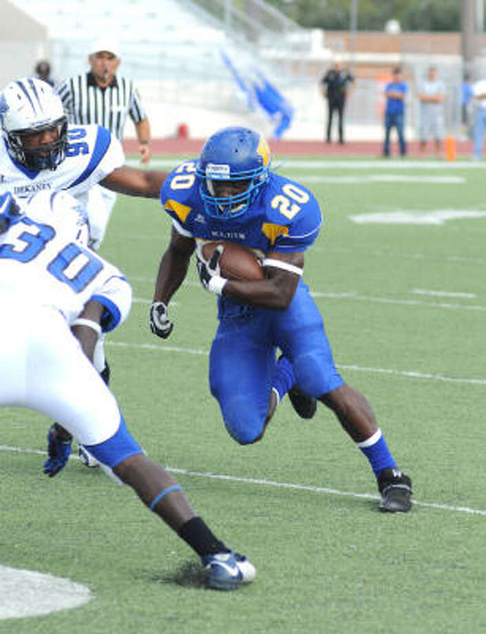 Klein's Keshawn Hill has a knack for long touchdown runs. Photo: CHRONICLE FILE