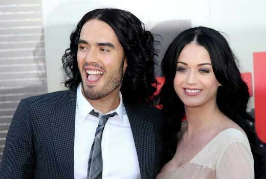 LONDON, ENGLAND - APRIL 19:  Russell Brand and Katy Perry attend the European Premiere of Arthur at Cineworld 02 on April 19, 2011 in London, England.  (Photo by Chris Jackson/Getty Images) *** Local Caption *** Russell Brand;Katy Perry; Photo: Getty Images
