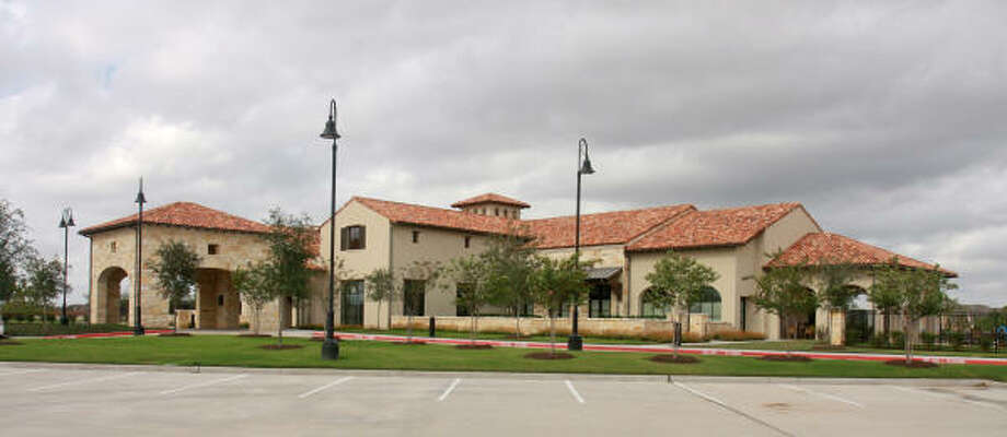 The Club at Aliana was one of the first structures to be built in the development in Fort Bend County. Other parts of the subdivision will be revamped. Photo: Gary Fountain:, For The Chronicle