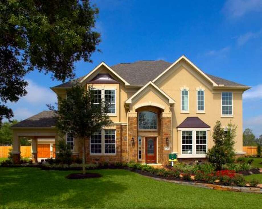 TIFFANY: Ashton Woods' Tiffany design is one of three new model homes opened in one convenient location in Southern Trails, a Pearland community. Each model is an example of what Ashton Woods builds in three Southern Trails neighborhoods.
