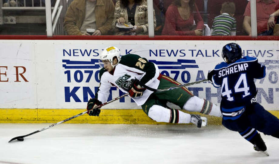 Houston Aeros defenseman Maxim Noreau will head to his second AHL All-Star game Jan. 31. Photo: Bob Levey, For The Chronicle