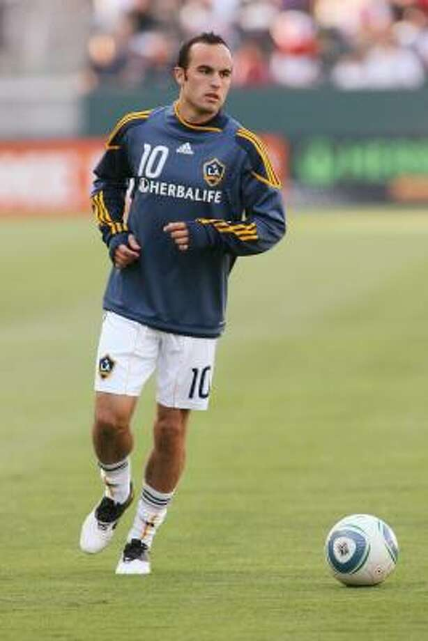 Landon Donovan's eight appearances in MLS All-Star Games tie him for the league record. Photo: Jeff Golden, Getty Images