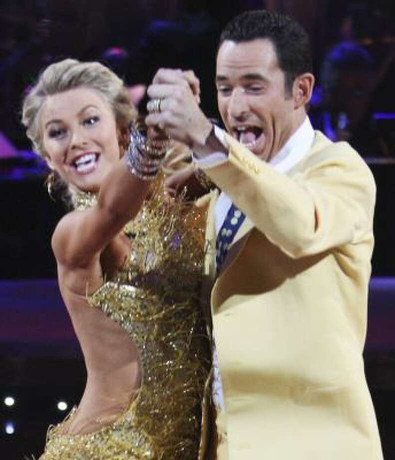 On Tuesday, the team of Julianne Hough and Hélio Castroneves won the two-part finale of Dancing With the Stars. Photo: CAROL KAELSON, ABC