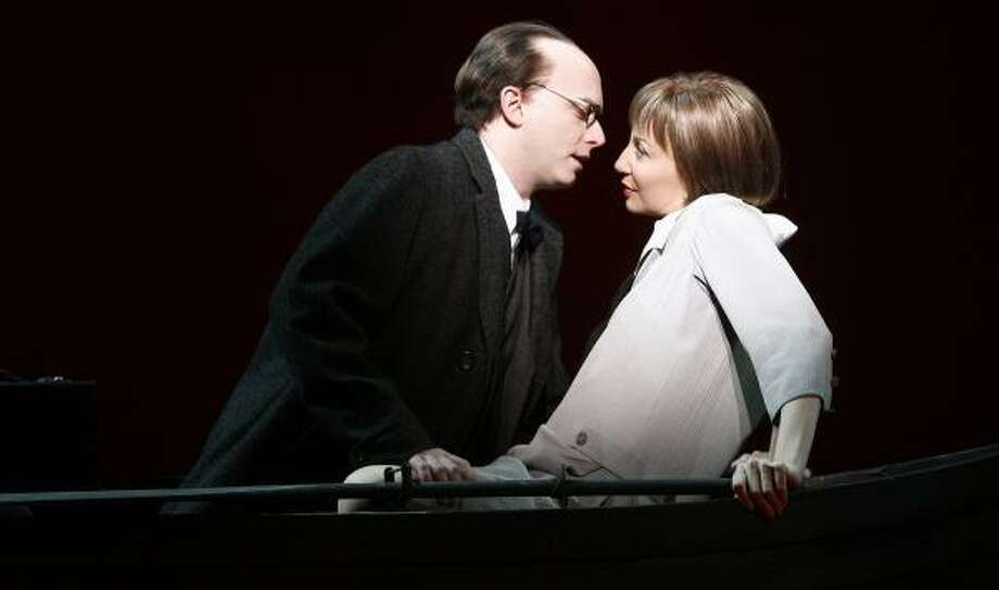 Michael Cerveris and Donna Murphy won raves playing composer Kurt Weill and his wife and muse Lotte Lenya in LoveMusik. Their performances are preserved on the show's cast album. Photo: Carol Rosegg, CAROL ROSEGG