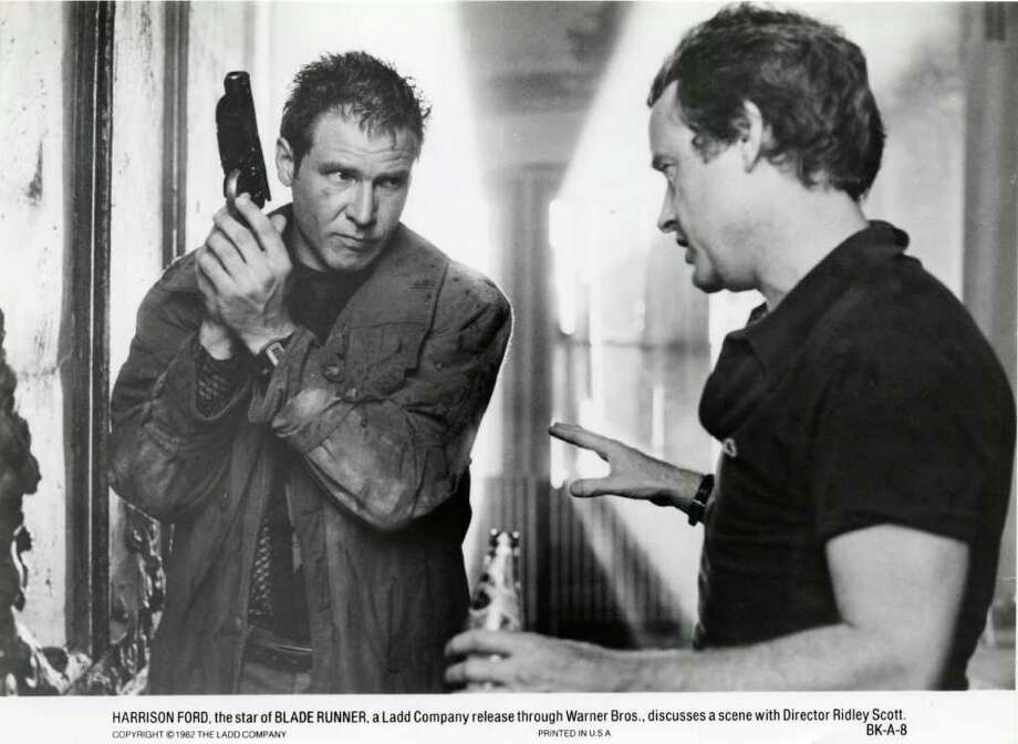 "Ridley Scott's (R) futuristic, dystopian ""Blade Runner,"" starring Harrison Ford (L), wasn't a success when it came out in 1982. But it's since become a cult classic.  Photo: Warner Bros / handout"