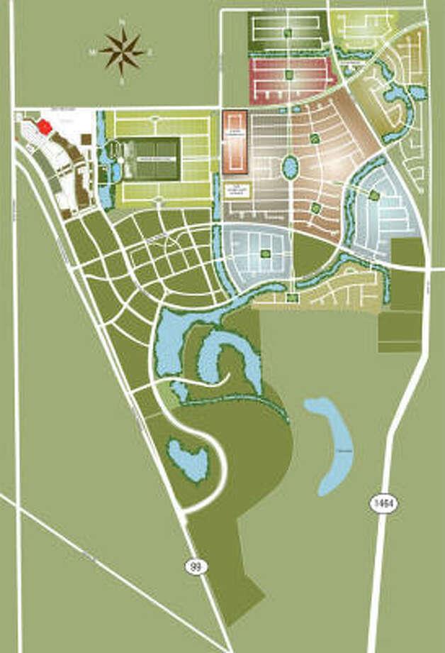 Aliana site plan