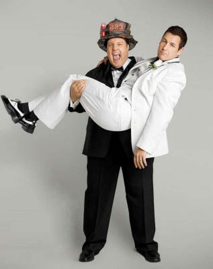 I Now Pronounce You Chuck & Larry. Photo: Universal