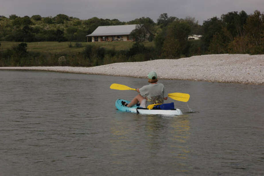 The Nueces is one of many spring-fed rivers in central West Texas. Photo: Shannon Tompkins, Chronicle