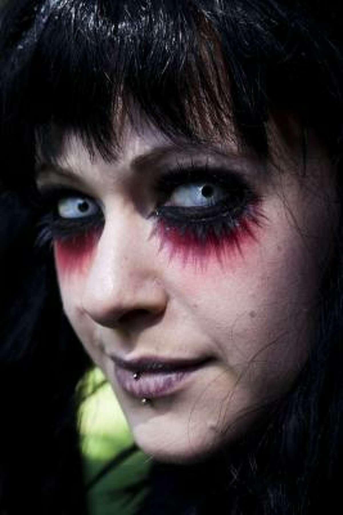 Many of those attending wear elaborate outfits and make-up for which they require hours of painstaking preparation and that also show a departure from the traditional black of the Goth scene.