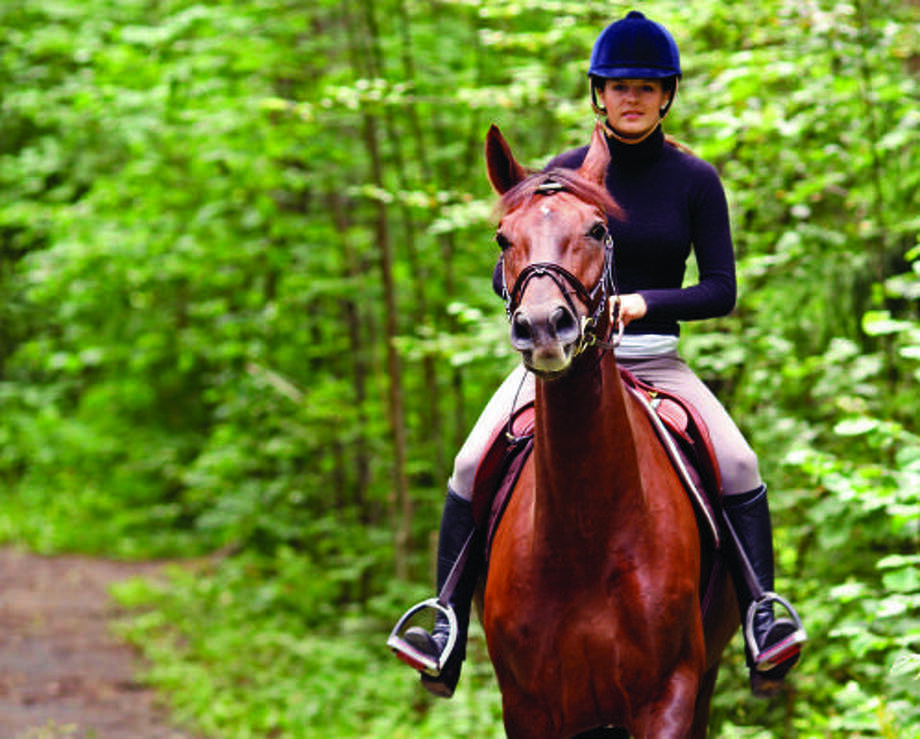 TAKING THE LEAD: Autumnwood offers acreage sites with hiking and bridle trails around a nature reserve.