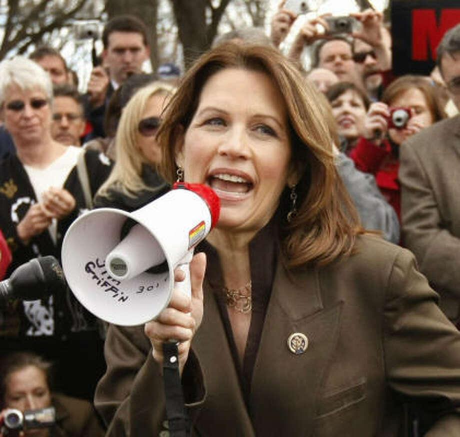 Michele Bachmann, U.S. Representative, Republican Status: Running Photo: Gerald Herbert, Associated Press