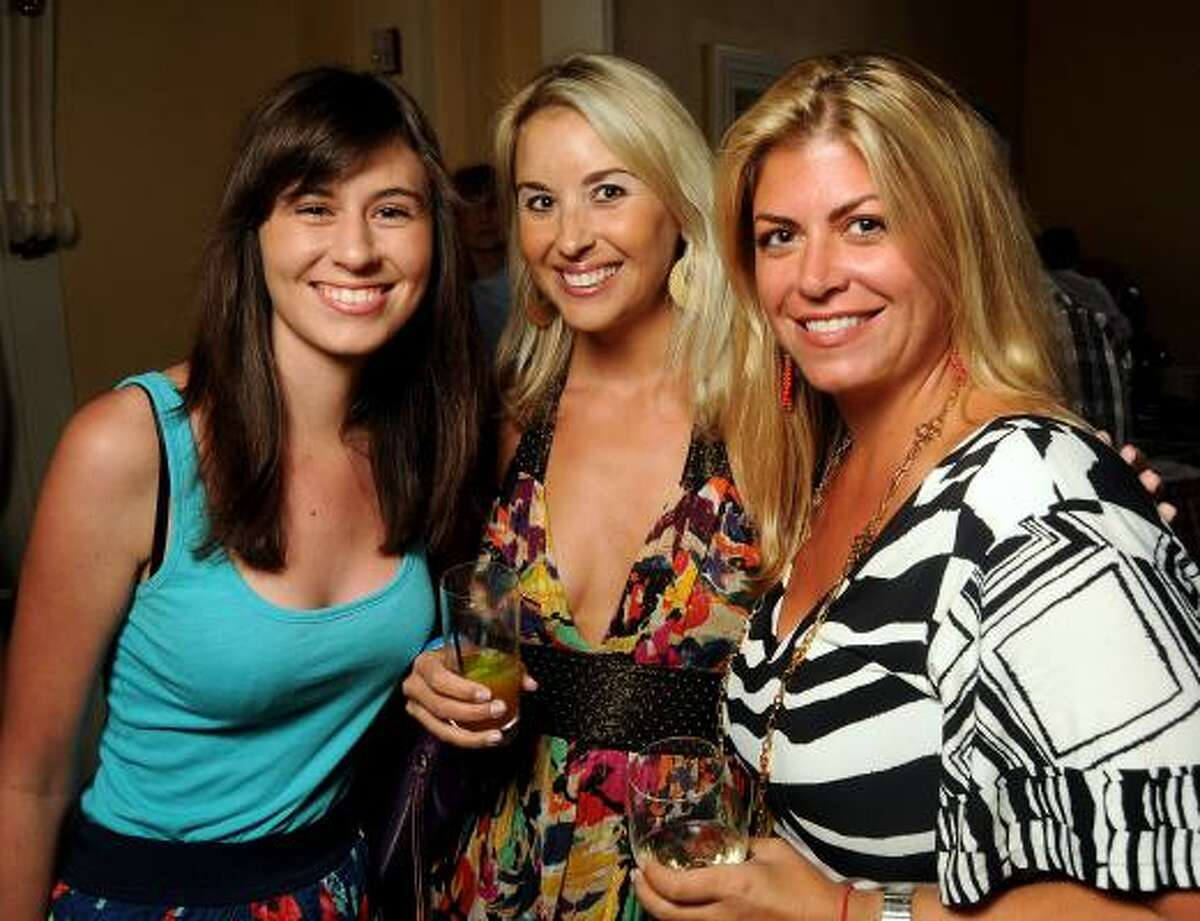 Shea Mitchell, Courtney Bullard and Lori Mitchell