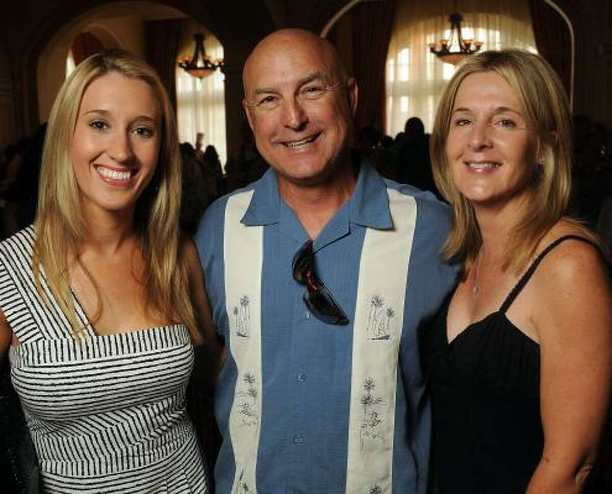 Robin Payne, Mike Janota and Lisa Shannon