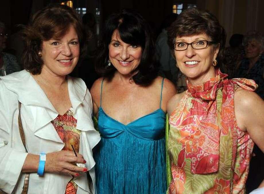 Cathy Frederickson, Sheridan Lorenz and Suzie Heimburger Photo: Dave Rossman, For The Chronicle