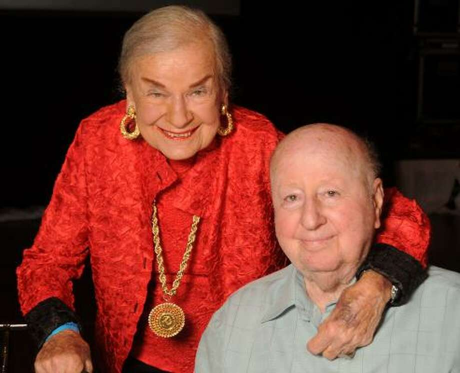 George Mitchell and his sister Maria Ballantyne Photo: Dave Rossman, For The Chronicle