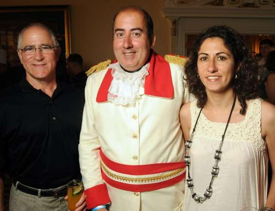 Armin Cantini, Jose Galvez and Ana Lia Galviz Photo: Dave Rossman, For The Chronicle