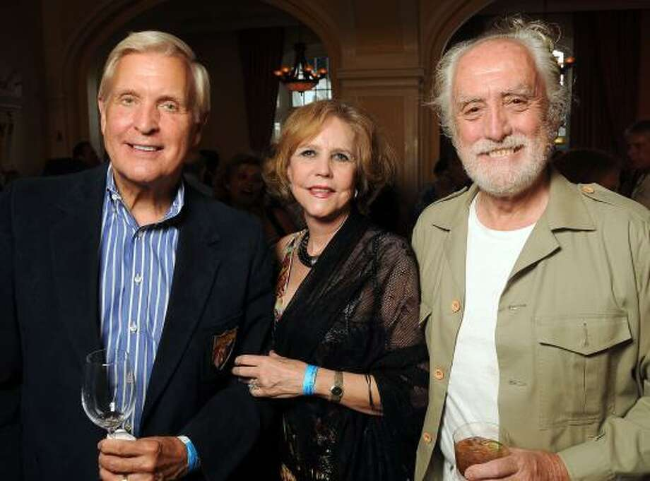 Doug and Joan McLeod with Miguel Angel Fernandez Photo: Dave Rossman, For The Chronicle