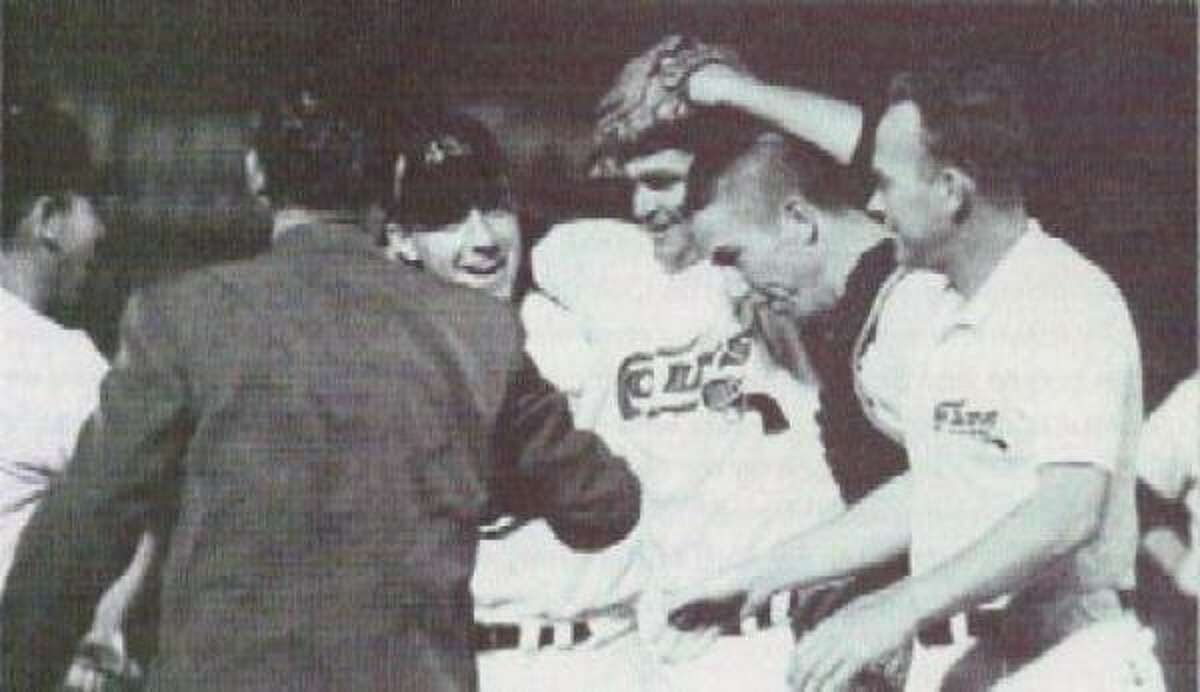 Don Nottebart May 17, 1963 at Colt Stadium Colt .45s 4, Phillies 1 The first in franchise history was seen by just 8,223 at the long-gone grounds of Colt Stadium. Nottebart, third from left, said after the game that he didn't throw a curveball all night.