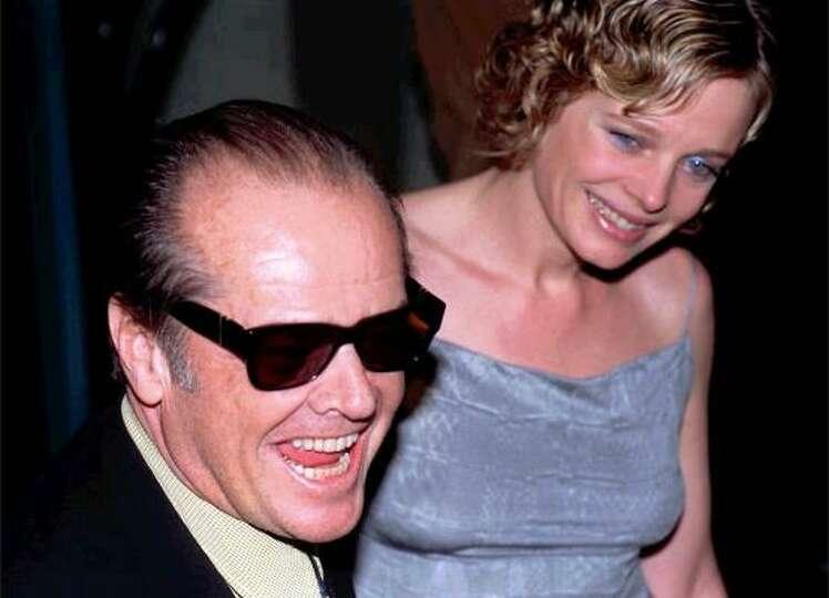 Jack Nicholson left Anjelica Houston, after Rebecca ...