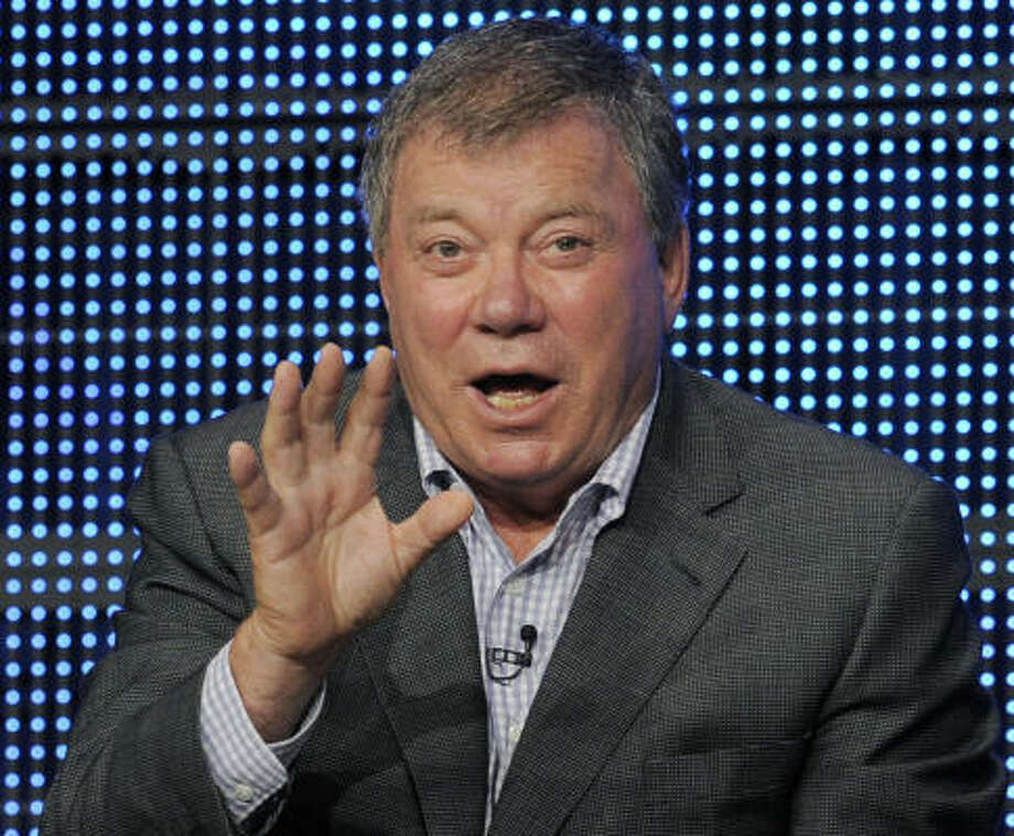 Unconfirmed: We all know William Shatner's hair can't be real. So many jokes have been made at his expense, but he's never fully admitted it.  Photo: Chris Pizzello, ASSOCIATED PRESS