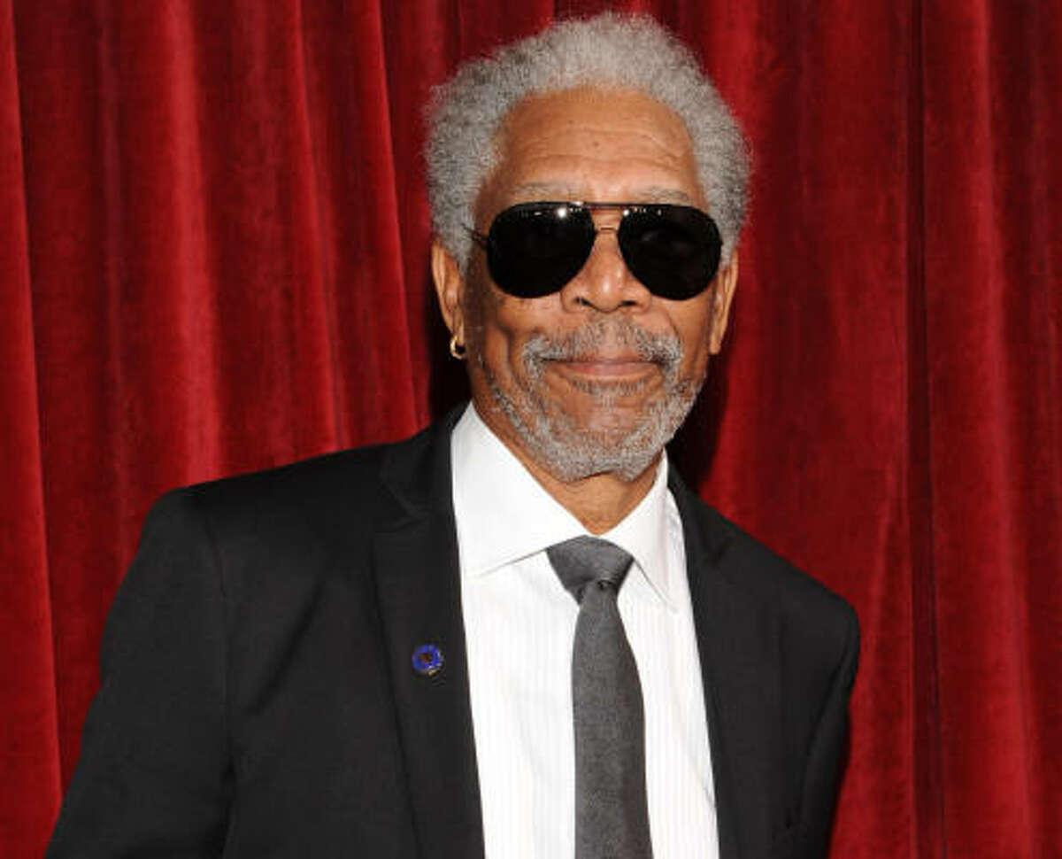 Morgan Freeman, 73
