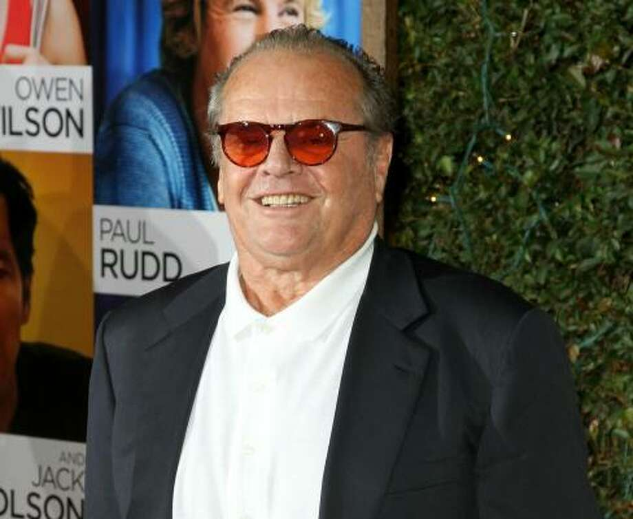 "Jack Nicholson had the following to say about abortion: ""I'm very contra my constituency in terms of abortion because I'm positively against it. I don't have the right to any other view. My only emotion is gratitude, literally, for my life.""  Photo: VALERIE MACON, AFP/Getty Images"