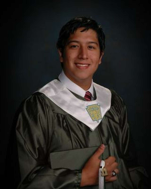 Ernesto Ramirez, Pasadena High School Class rank: Valedictorian