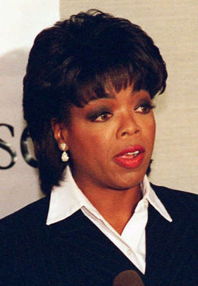 Oprah once won Miss Fire prevention. Photo: JOHN SWART, ASSOCIATED PRESS