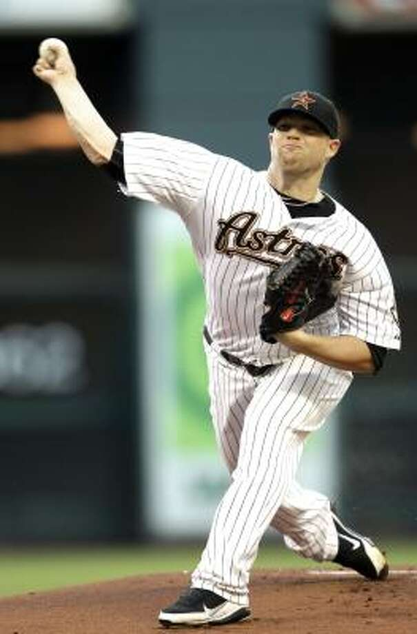 Bud Norris held the Mets to four runs in 7 1/3 innings. Photo: David J. Phillip, Associated Press