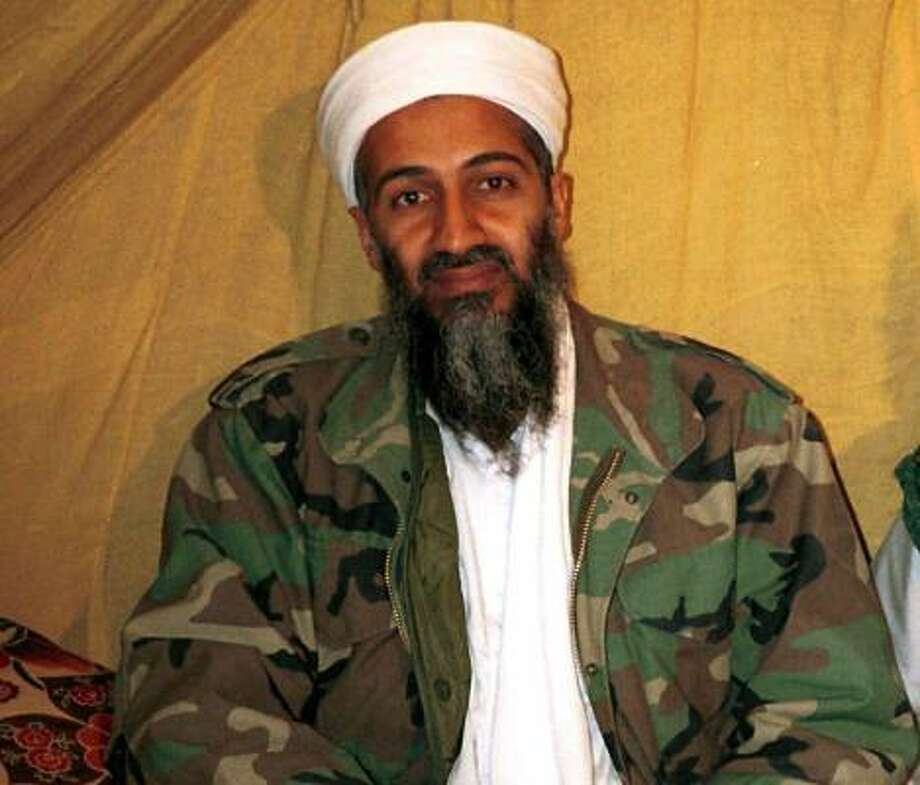 Al Qaeda leader Osama bin Laden was killed by U.S. forces in Pakistan after nearly a decade at large, according to a government announcement Sunday night. Photo: Anonymous, AP